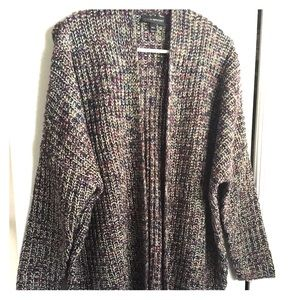Lane Bryant Open Front Long Tunic Sweater